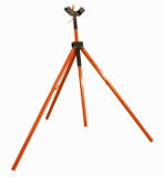 T155 Telescoping Tripod Sign Stand For Roll Ups & Rigid Signs