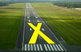 Airport Runway Closure Marker X