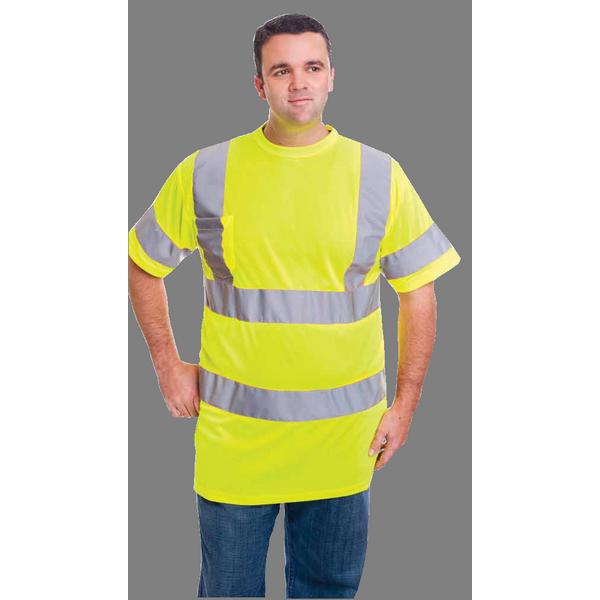 Class 3 Moisture Control T Shirt w/ Chest Pocket
