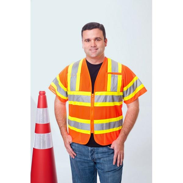 Class 3 Premium Vest w/ Zipper Front